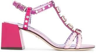 Dolce & Gabbana Keira block-heel sandals