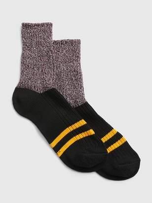 Gap Rugby Stripe Colorblock Half Boot Socks