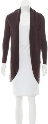 Eileen Fisher Wool Open Front Cardigan