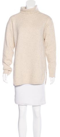 CelineCéline Wool-Blend Turtleneck Sweater