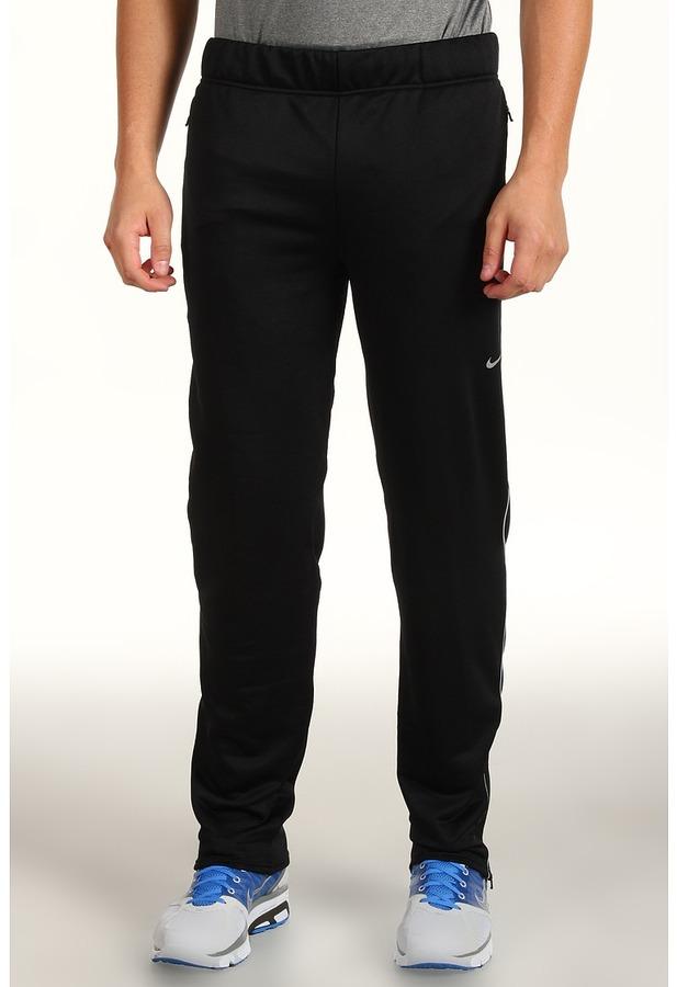 Nike Knit Track Pant (Black/Reflective Silver) - Apparel