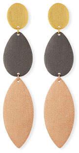 Stephanie Kantis Enchantment Three-Drop Earrings