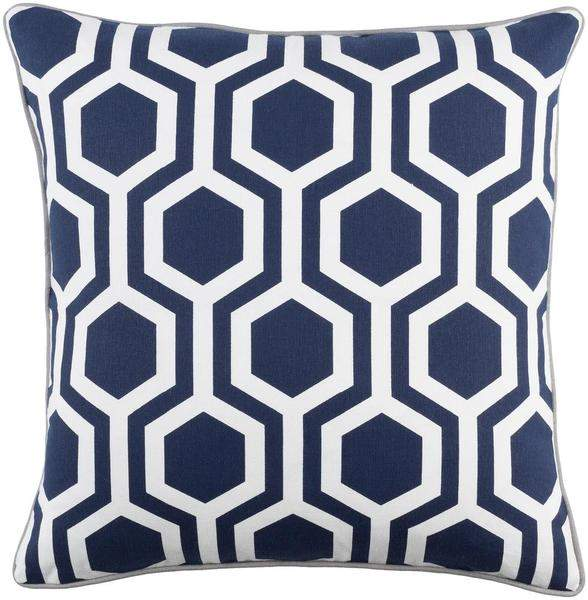 Torrance Toss Pillow NAVY/GREY