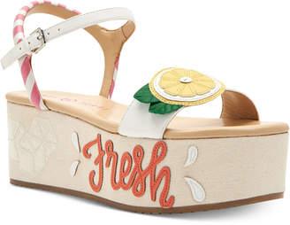 Katy Perry Carolynn Lemonade Flatform Sandals Women's Shoes