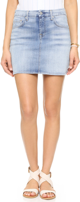 7 For All Mankind Miniskirt $169 thestylecure.com