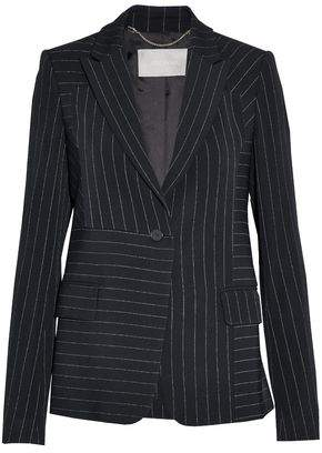 Jason Wu Pinstriped Twill Blazer