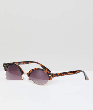 A. J. Morgan Aj Morgan Retro Sunglasses In Tort