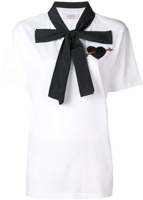Valentino pussy bow blouse