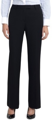 Brooks Brothers Petite Plain-Front Caroline Fit Fluid Stretch Dress Trousers