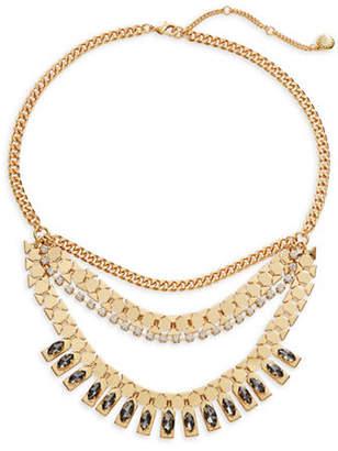 BCBGeneration Crystal Bib Necklace