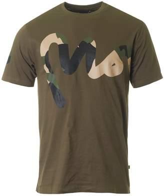 Money Camo Big Sig Crew Neck T-shirt