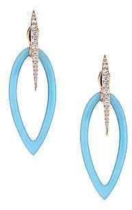 Adriana Orsini Summer Color Front To Back Earrings