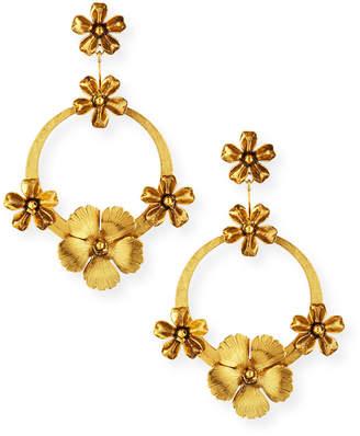 Jennifer Behr Freya Hoop Drop Earrings