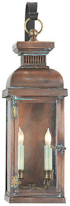 Visual Comfort & Co. Suffork Outdoor Wall Lantern - Copper