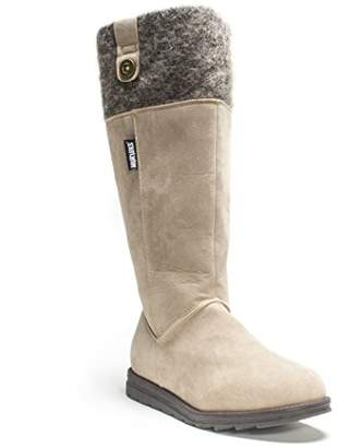 Muk Luks Women's Alicia Tall Cuff Boot
