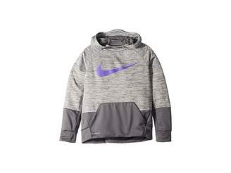 9e43e556a20 Nike Therma Graphic Swoosh Training Pullover Hoodie (Big Kids)