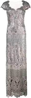 Tadashi Shoji structured gown