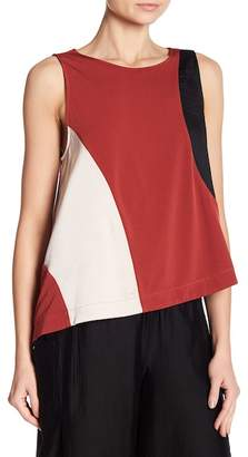 Kenneth Cole New York Cold Shoulder Swing Top