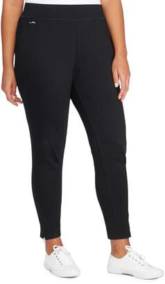 Lauren Ralph Lauren Plus Jersey Ankle Pants