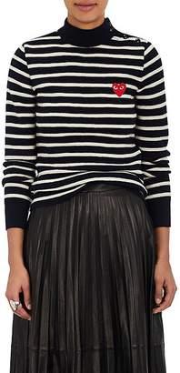 Comme des Garcons Women's Striped Wool Sweater