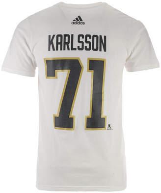 adidas Men William Karlsson Vegas Golden Knights Silver Player T-shirt