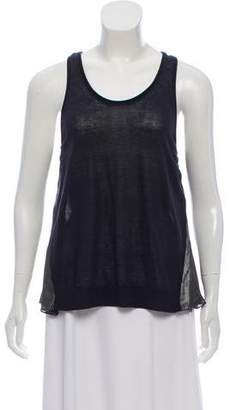 3.1 Phillip Lim Metallic Accented Sleeveless Top