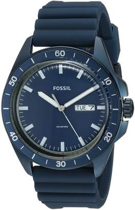 Fossil Men's FS5260 Sport 54 Three-Hand Day-Date Silicone Watch