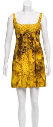 Prada Silk Abstract Dress