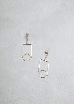 Mociun Figure 12 Drop Earrings