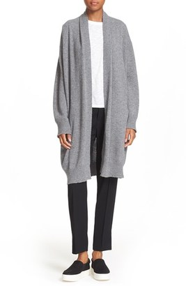 Women's Vince Open Front Cashmere Knit Coat $495 thestylecure.com