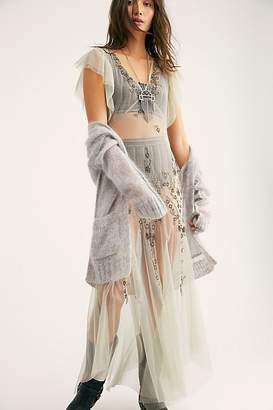 Intimately Annabelle Embroidered Maxi Slip