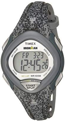 Timex Women's TW5M08600 Ironman Sleek 30 Speckled Resin Strap Watch
