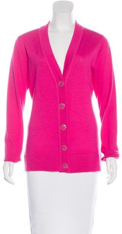 Tory Burch Tory Burch Wool Button-Up Cardigan