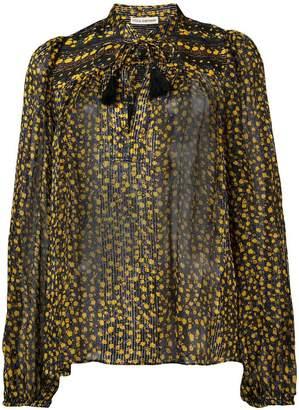 Ulla Johnson floral printed blouse