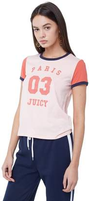 Juicy Couture Paris 03 Colorblock Tee