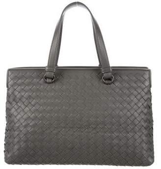 Bottega Veneta Medium Intrecciato Top Handle Bag