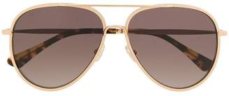 Jimmy Choo Eyewear tinted aviator sunglasses
