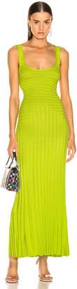 Mara Hoffman Michaela Dress in Lime | FWRD