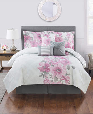 Charlize 7 Pc King Comforter Set Bedding