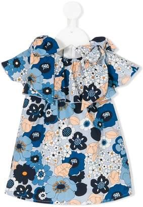Chloé Kids frilled floral dress