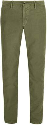 Incotex Slim-leg cotton chino trousers