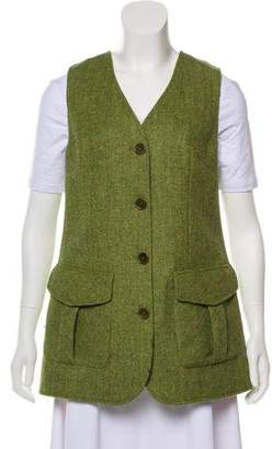 Beretta V-neck Virgin Wool Vest