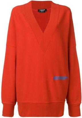 Calvin Klein V-neck sweatshirt