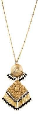 Etro Beaded Pendant Necklace