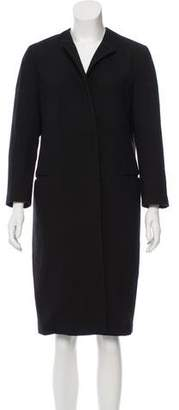Calvin Klein Collection Wool Chesterfield Coat