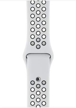Apple 42mm Pure Platinum/Black Nike Sport Band - S/M & M/L