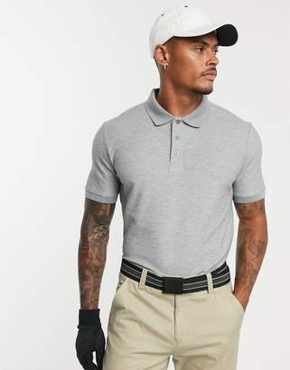 Calvin Klein Golf Vmidtown radical polo in grey