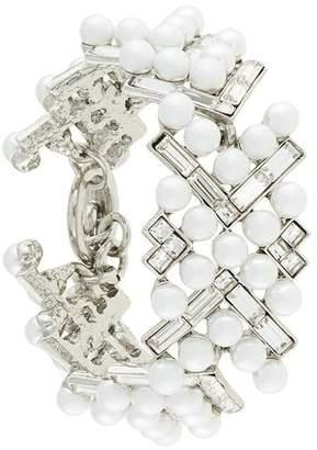 Oscar de la Renta embellished pearl bracelet