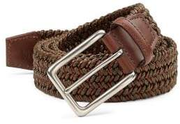 Saks Fifth Avenue COLLECTION Braided Leather Belt