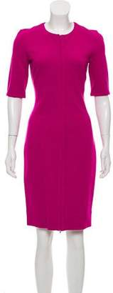 Diane von Furstenberg Zip-Up Knee-Length Dress w/ Tags